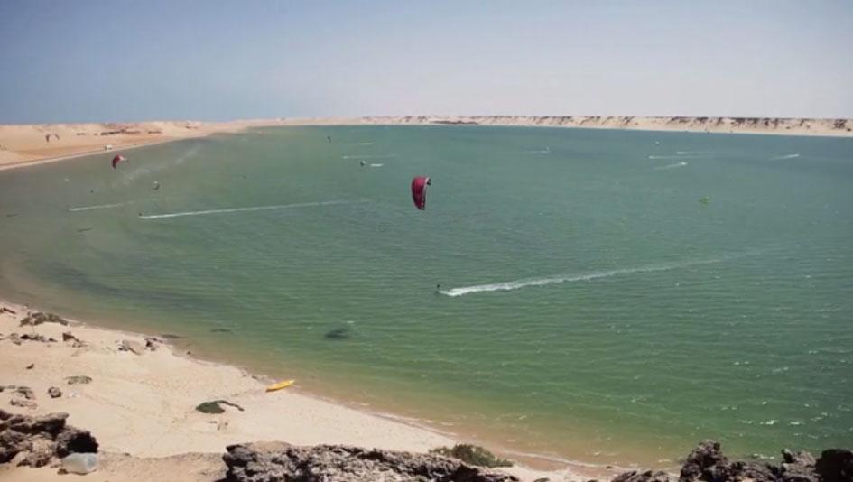 Kitesurfing in Dakhla Spirit Morocco